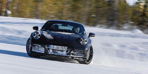 2019 Porsche 911 nears production