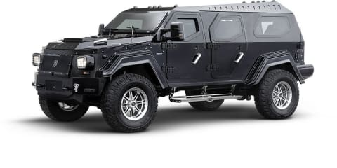 Conquest Vehicles Knight XV to make European debut at Top Marques Monaco 2011