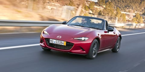 Mazda MX-5's Italian twin will be badged Fiat 124 Spider