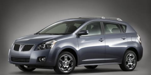GM recalls 10,000 Pontiacs in the US over brake issues