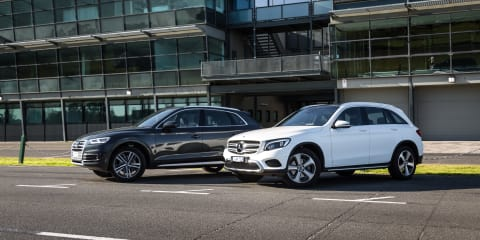 2017 Audi Q5 2.0 TDI Sport v Mercedes-Benz GLC 220d comparison