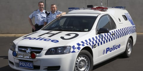 Holden launches new Divisional Van for Victoria Police