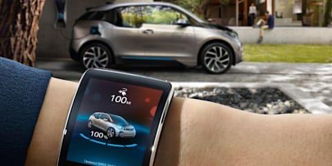 BMW i Remote app for Samsung smartwatch wins CES award