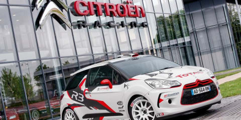 2010 Citroen Racing DS3 R3 unveiled