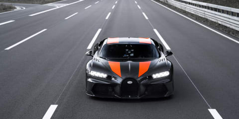 Bugatti Chiron tops 300mph as company looks to leave the speed record game