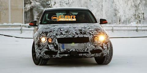 2012 BMW 3 Series winter spy shots