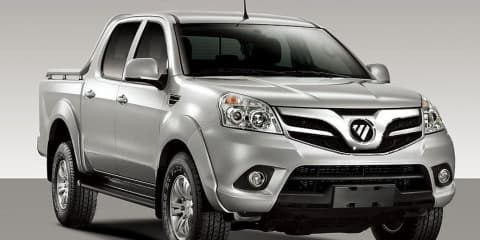 Foton: New Cars 2012