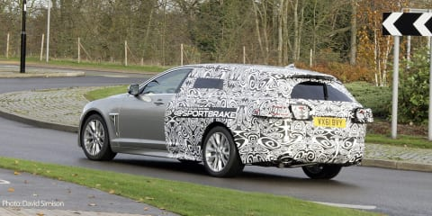 Jaguar XF Sportbrake Spy Photos...by Jaguar