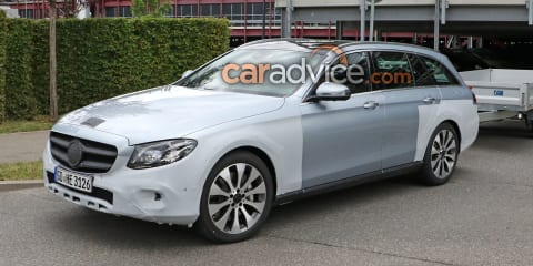 2017 Mercedes-Benz E-Class All Terrain spied
