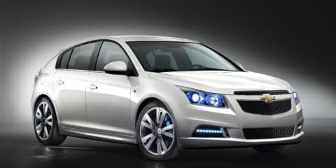 Chevrolet Cruze hatchback designed and built by Holden