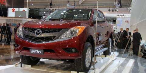 Mazda BT-50 at 2010 AIMS