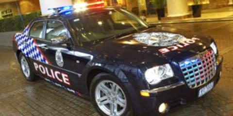 Victoria Police Chrysler 300C Police Car