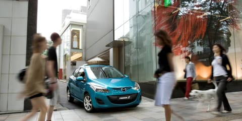 2011 Mazda2 range updated for Australia