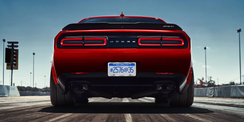 2018 Dodge Challenger Demon teased again, could be a one-seater
