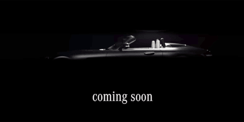 2017 Mercedes-AMG GT C roadster teased ahead of Paris debut