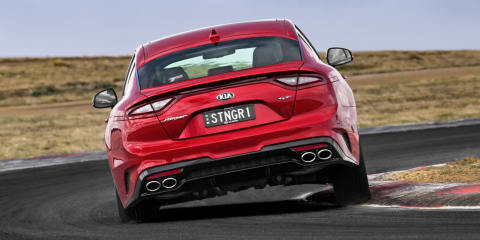 2018 Kia Stinger track drive: video