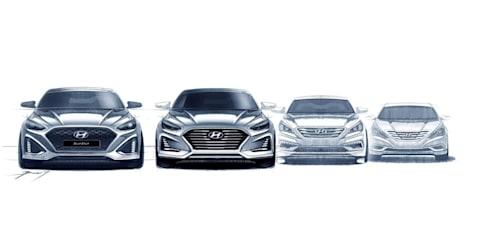 2018 Hyundai Sonata facelift sketches go official - UPDATE