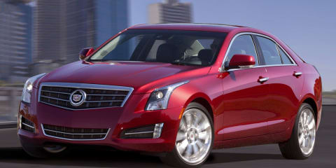 2013 Cadillac ATS unveiled at Detroit