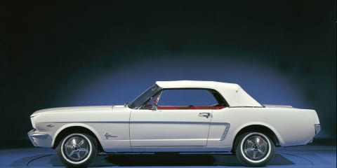 Ford Mustang celebrates 45th anniversary