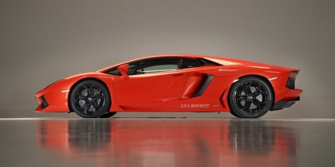 2011 Lamborghini Aventador LP700 images revealed
