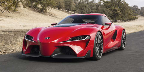 Toyota FT-1 concept previews Supra successor