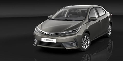 2017 Toyota Corolla sedan revealed, Australian launch due early next year