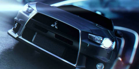 Mitsubishi Lancer Evolution animated TV spot