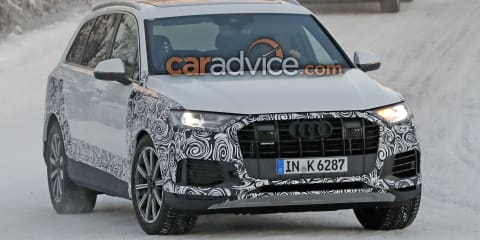 2019 Audi Q7 spied in the snow