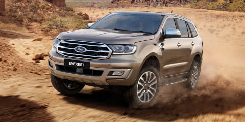 2019 Ford Everest revealed, here in September – UPDATE