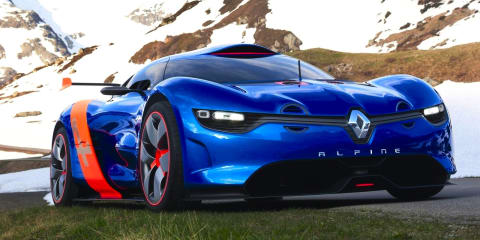 Alpine's first sports car will be the brand's 911, says designer