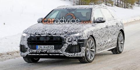 2018 Audi Q8 spied