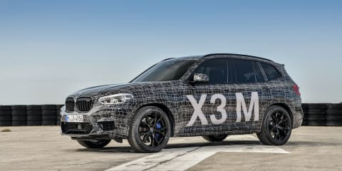 2019 BMW X3, X4 M teased again