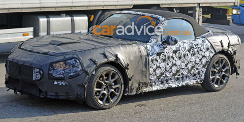 Fiat 124 Spider Abarth on its way: Hot roadster spied testing
