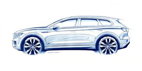 2019 Volkswagen Touareg previewed