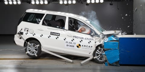 Proton Exora earns four-star ANCAP safety rating, Suprima S five