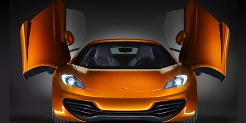 2011 McLaren MP4-12C XP Beta test cars - video