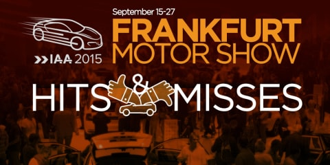 2015 Frankfurt motor show:: hits and misses