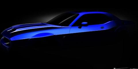 2019 Dodge Challenger SRT Hellcat teased again