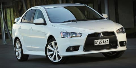 Mitsubishi Lancer range updated for 2014