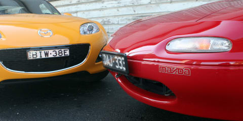 Mazda MX-5 Retro Road Test