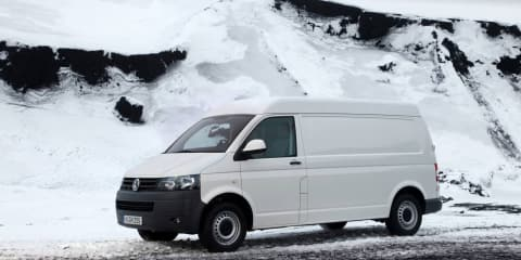 Volkswagen Transporter and Multivan now with 4MOTION
