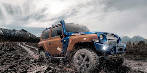 Ford's Troller division reveals new, Ranger-based TX4