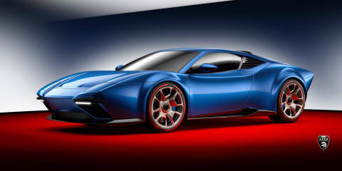 Project Panther: Modern DeTomaso impersonator unveiled