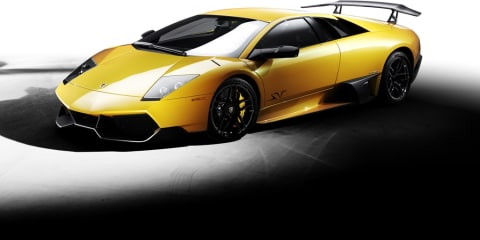 Lamborghini honors Murcielago with V12 parade