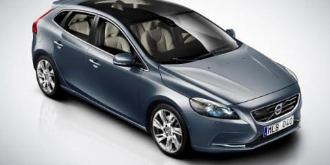 Volvo V40 exposed in detailed images