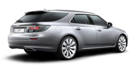 2012 Saab 9-5 SportCombi previewed in video, images