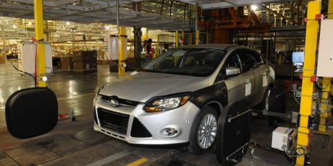 Ford Michigan plant to produce Focus hybrid and EV platforms