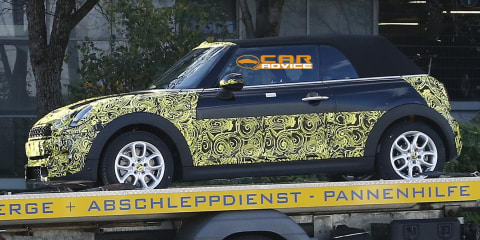 Mini Cooper Cabrio: first look at new drop-top