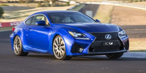 2015 Lexus RC F priced from $133,500, Carbon variant to cost $147,500