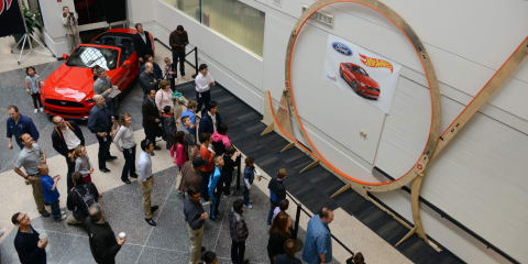 World-record Hotwheels loop built by Ford engineer and his six-year old son